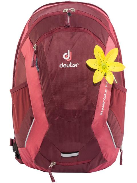 Deuter Superbike 14 EXP SL Backpack Women maron-cardinal